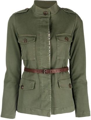 Bazar Deluxe Belted Waist Safari Jacket