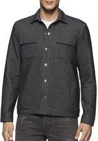 Calvin Klein Jeans Bonded Knit Trucker Jacket