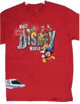 Disney Big Boys Cartoon World Inspi Print T-Shirt 14-16