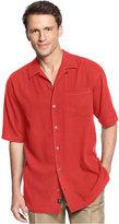Tommy Bahama Men's Short-Sleeve Catalina Twill Shirt, Only at Macy's