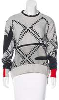 Preen Abstract Print Knit Sweater