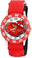 Disney Kids' W001929 Cars Analog Red Watch