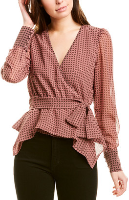 Bailey 44 Tinsley Wrap Top