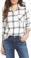 RVCA Plaid Long Sleeve Shirt