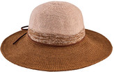 San Diego Hat Company Women's Color Block Knit Floppy Hat CTH8095