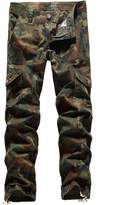 SSLR Men's Cotton Military-Style Army Cargo Pants