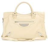 Balenciaga Classic City Metal Plate Leather Tote