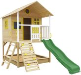 Lifespan Lifespan Kids Warrigal Cubby House with Green Slide
