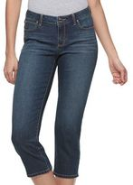 JLO by Jennifer Lopez Women's Cropped Straight-Leg Jeans