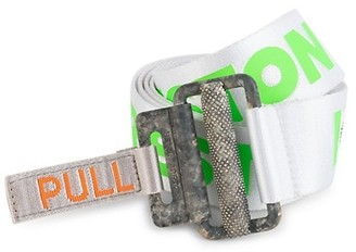Heron Preston Concrete Jungle Transfer Logo Tape Belt