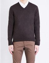Paul Smith V-neck merino wool jumper