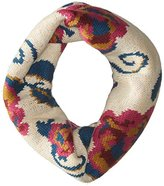 Muk Luks Women's Happy Glamper Funnel Scarf-Secret Floral