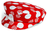 L'Wren Scott L\'Wren Scott Red/Cream Printed Hat
