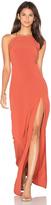 Donna Mizani Square Neck Maxi Dress