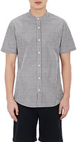 Vince MEN'S POPLIN SHORT-SLEEVE SHIRT SIZE XL
