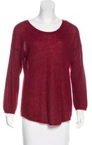 Halston Alpaca & Wool Knit Sweater