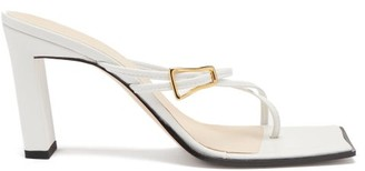 Wandler Buckled-strap Leather Sandals - White