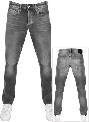 G Star Raw 3301 Straight Jeans Grey