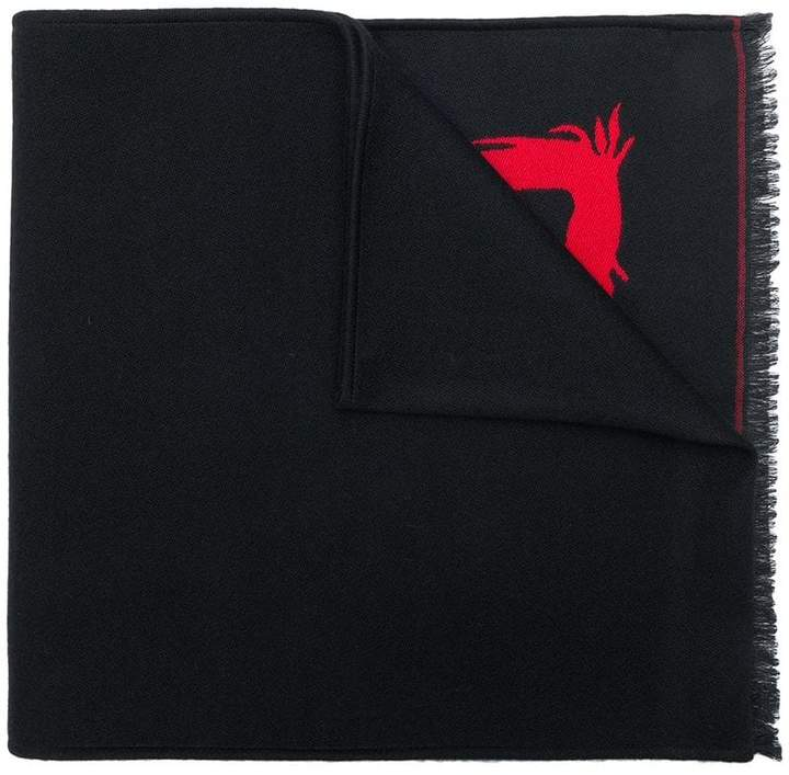 Givenchy 4G frayed scarf
