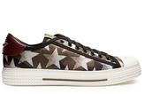 Valentino Camustars-print low-top trainers