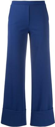 Le Petite Robe Di Chiara Boni Fred high-waisted trousers