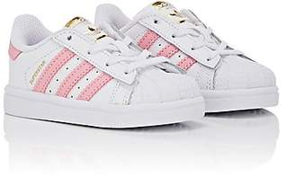 adidas Kids' Superstar Faux-Leather Sneakers - White