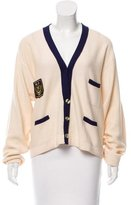 Sonia Rykiel Two-Tone Embroidered Cardigan