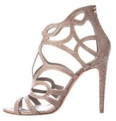 Christian Dior Paradis Embossed Cage Sandals