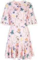 Borgo de Nor Alba floral-print dress