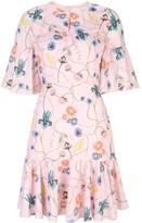 Borgo de Nor Alba floral-print dress