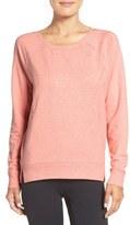 Zella 'Luxesport' Long Sleeve Sweatshirt