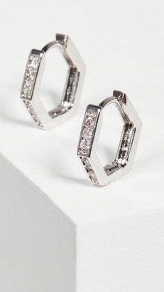 Jules Smith Designs Little Angled Hoops
