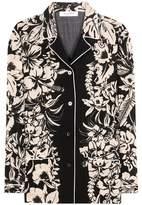 Valentino Printed virgin wool blouse
