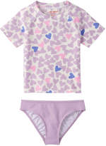 Joe Fresh Kid Girls' Rash Guard Set