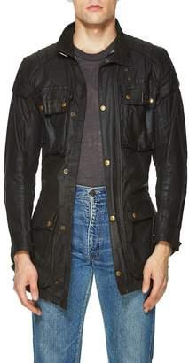 Belstaff Vintage Black Waxed Cotton Trailmaster Jacket