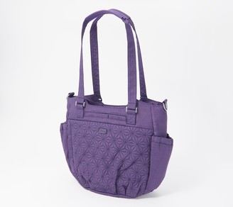 Lug Quilted Convertible Large Shoulder Bag - Scuttle