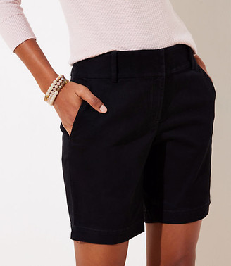 LOFT Curvy Riviera Shorts with 8 Inch Inseam