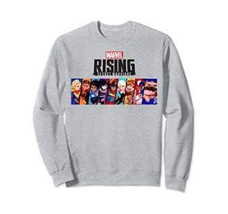 Marvel Rising Secret Warriors Portrait Panel Logo Sweatshirt