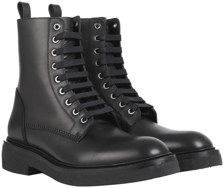 Thumbnail for your product : Amiri Black Combat Boots