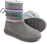 Toms Nepal Suede Fair Isle Boots (For Little and Big Girls)