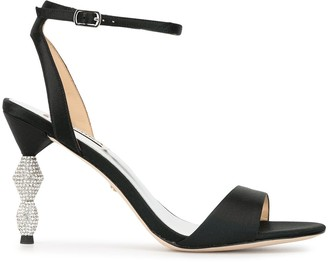 Badgley Mischka Eva Marie satin sandals
