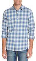Nordstrom Men's Slim Fit Workwear Plaid Sport Shirt