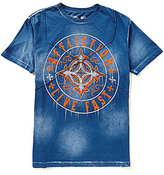 Affliction Slash Short-Sleeve Crewneck Graphic Tee
