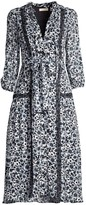 Shoshanna Calla Floral Lace Dress