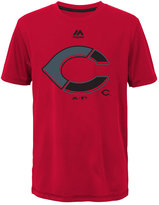 Majestic Cincinnati Reds Split Series Ultra T-Shirt, Big Boys (8-20)