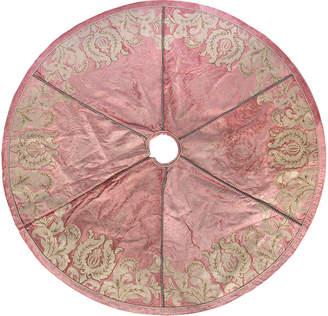 Mackenzie Childs MacKenzie-Childs - Nectar Tree Skirt - Pink