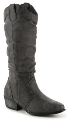 Journee Collection Drover Cowboy Boot
