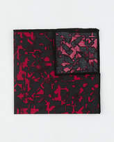 Le Château Novelty Print Cotton Blend Pocket Square