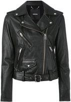 Diesel biker jacket - women - Calf Leather - M