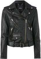 Diesel biker jacket - women - Calf Leather - S